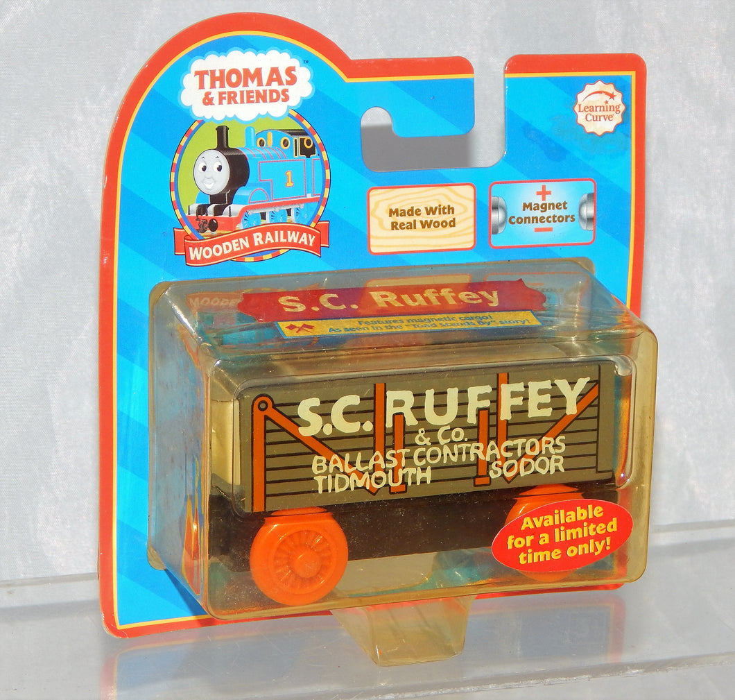 Thomas Tank Engine Wooden SC Ruffey freight car NEW IN PACKAGE Retired  LC 99029