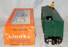 Load image into Gallery viewer, Lionel 3370 Sherrif & Outlaw Action Car W&A Western & Atlantic Wells Fargo Boxed
