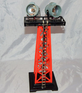 K-Line K-133 Searchlight Tower O/027 Two bright lights Marx accessory floodlight