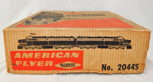American Flyer 20445 Northern Pacific PA Passenger BOXED Set North Coast Limited