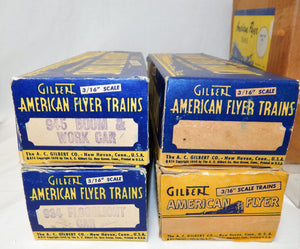CLEAN 1954 American Flyer set K5435T Silver Comet Diesel Freight BOXED 466 work