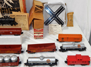 Clean 1958 American Flyer 20460 Yard King Special Boxed Set 21145 0-8-0 +13 Cars