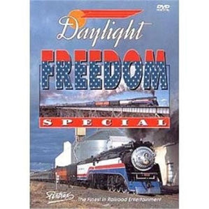 Daylight Freedom Special DVD Pentrex railroad video 2002 run Daylight 4449 SP
