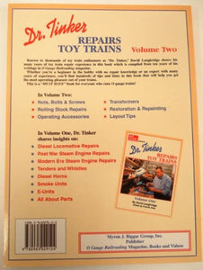 Dr. Tinker Repairs Toy Trains Volume Two Postwar Modern Accessories Cars Transfo