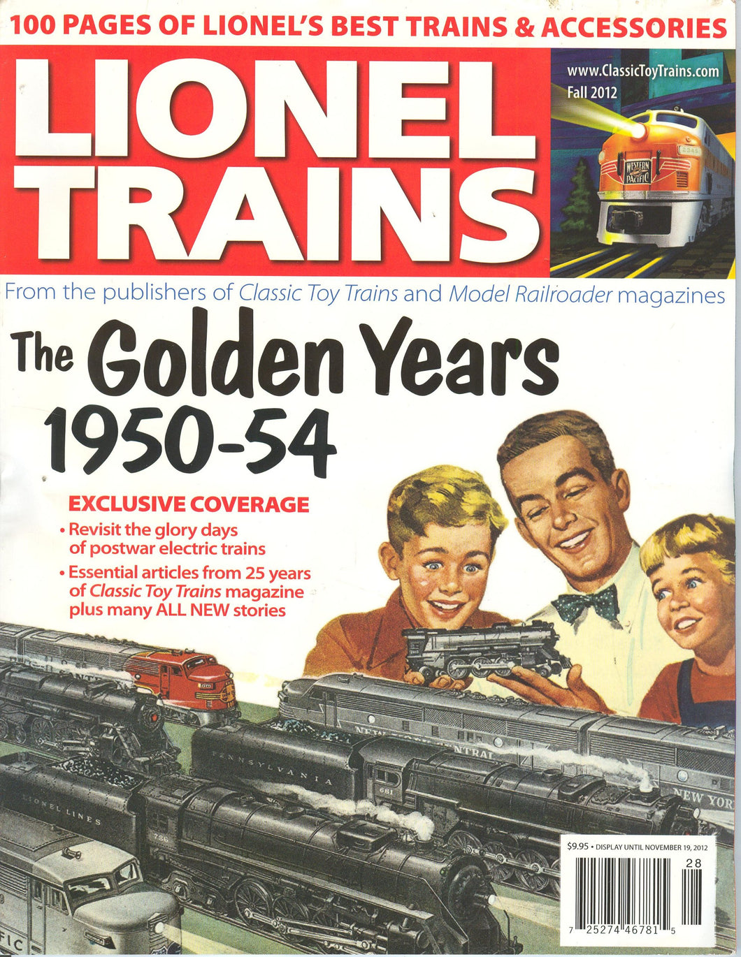Lionel Trains The Golden Years 1950-54 2012 Publishers of Classic Toy Trains 100