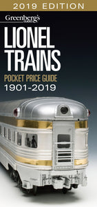 Greenberg's Guide to Lionel Trains 1901-2019 Pocket Price Guide #108719 440 pgs