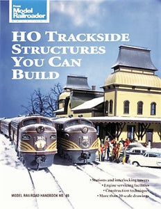 HO Trackside Structures You Can Build Book #12143 Model Railroad 120pgs Industry