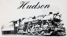 Load image into Gallery viewer, New York Central System Hudson T-Shirt Steam Engine Logo Front Train back 2sided