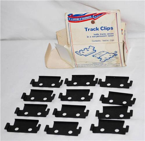 Lionel 6-2901 Track connectors Clips box of 12 Keep track together 1st ISSUE Box