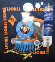 Load image into Gallery viewer, Lionel Trains Navy Blue Toddler Long Sleeve T-shirt Steam Engine Infant Steam