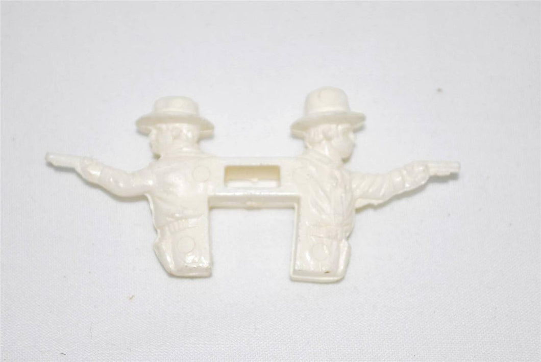 Lionel PARTS 9305-015 White Cowboy figure 2 heads bob out of window sheriff