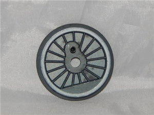 Wheel Lionel 600-8606-611 One Flanged end Whitewall WHEEL for Hudson B&A 784