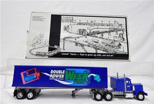 Load image into Gallery viewer, Lionel Trains 6-12865 Wisk Detergent Tractor Truck Trailer Die Cast w/box C8 Blu