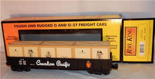 Load image into Gallery viewer, MTH 30-72009 Canadian Pacific Gondola w/ Crate Load CP 344397 Beaver logo O /027