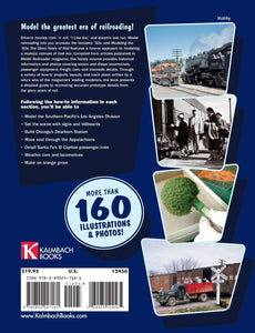 Modeling the '50s The Glory Years of Rail Book #12456 2008 OOP Model Railroader