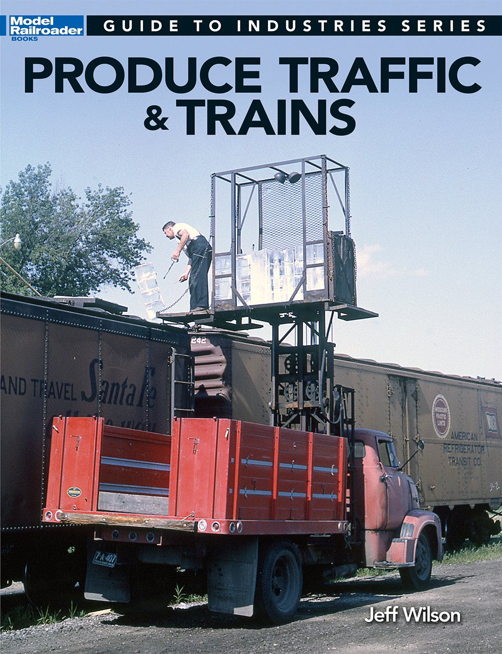 Produce Traffic & Trains MRR's Guide to Industries #12500 Book Wilson Lots Pix