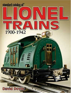 Standard Catalog PREWAR Lionel Trains 1901-1942 Book Doyle Guide Out of Print