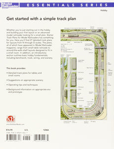 Starter Track Plans for Model Railroaders: 25 Starter Layouts You Can Build HO N
