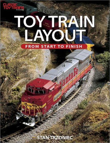 Toy Train Layout From Start to Finish Classic Toy Trains Books Layouts O gauge OOP