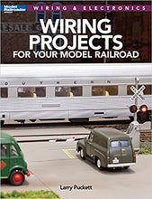 Load image into Gallery viewer, Wiring Projects for your Model Railroad Modern Wiring & Electronics NOS, crease