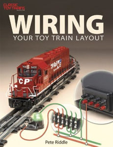 Wiring Your Toy Train Layout First Edition 10-8302 Lionel + O gauge Peter Riddle
