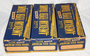 1946 American Flyer Set 4605 Pennsylvania Freight Train BOXED 310 K5 steam clean