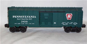 Lionel 6-36261 Pennsylvania Railroad GREEN O boxcar Don't Stand Me Still 24018