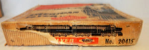 1958 American Flyer 20415 Black Diamond Steam Freight BOXED SET Complete Reading