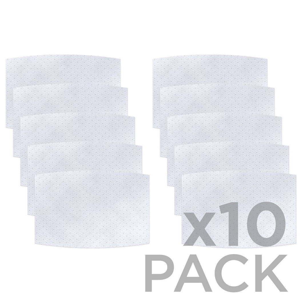 Non-Woven / 3-layer Filter 10-Pack ($1.40ea) - Protect Styles