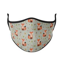 Load image into Gallery viewer, Autumn Fox Reusable Face Mask - Protect Styles