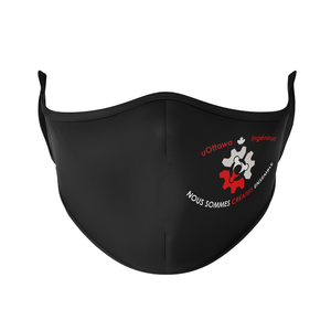 U Ottawa Engineering French Reusable Face Mask - Protect Styles