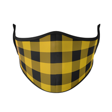 Load image into Gallery viewer, Buffalo Check Reusable Face Masks - Protect Styles