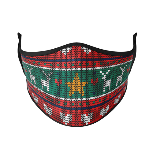 Christmas Sweater Reusable Face Masks - Protect Styles