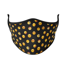 Load image into Gallery viewer, Emojis Reusable Face Masks - Protect Styles