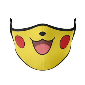 Happy Face Reusable Face Masks - Protect Styles