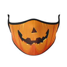 Load image into Gallery viewer, Jack-o-Lantern Reusable Face Mask - Protect Styles