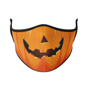 Jack-o-Lantern Reusable Face Mask - Protect Styles