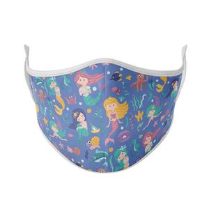 Mermaid Print Reusable Face Mask
