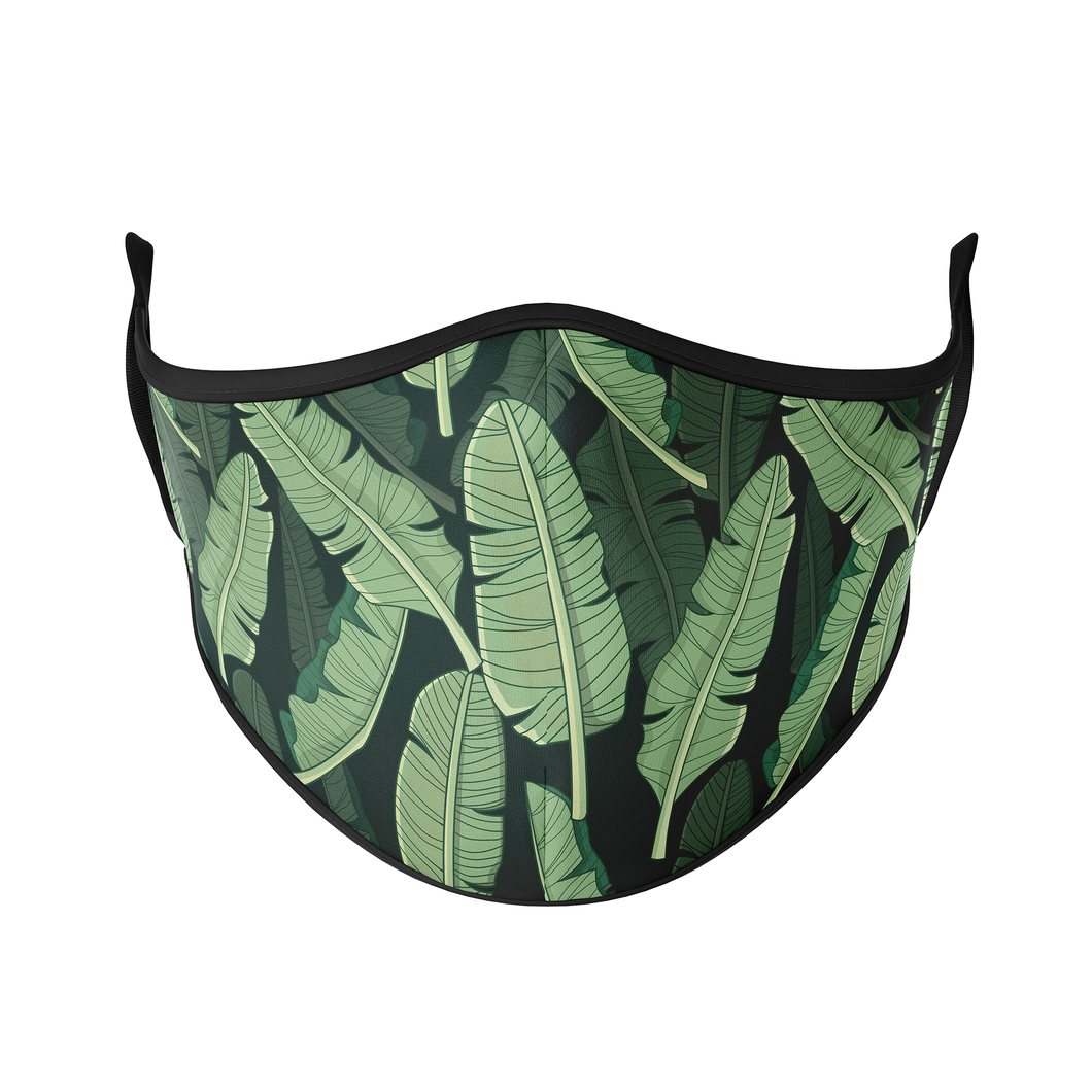 Palm Leaves Reusable Face Masks - Protect Styles