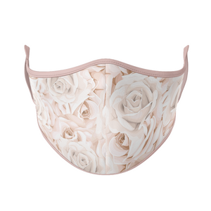 Pink Roses Reusable Face Masks - Protect Styles