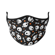 Load image into Gallery viewer, Spooky Skulls Reusable Face Mask