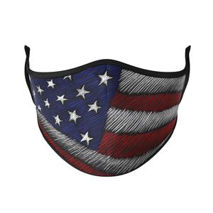 America Reusable Face Masks - Protect Styles US