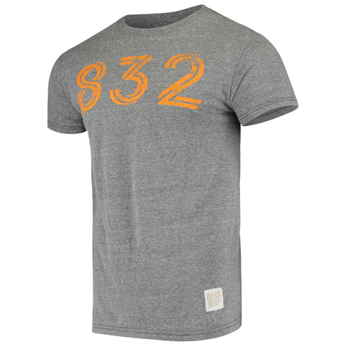 Houston Dynamo Men's 832 Short Sleeve Tee Gray