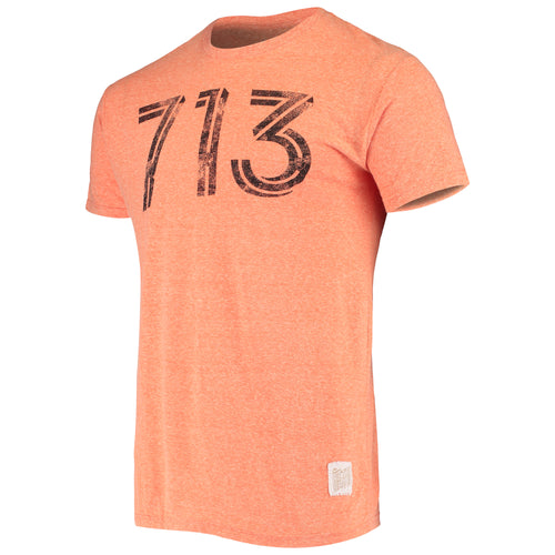 Houston Dynamo Men's 713 Short Sleeve Tee Orange
