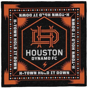 Houston Dynamo Slogan Bandana