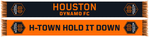 HOUSTON DYNAMO RUFFNECK WEAR INC. TWO TONE SCARF 2020