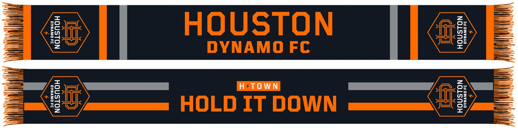HOUSTON DYNAMO RUFFNECK WEAR INC. BLACK SCARF 2020