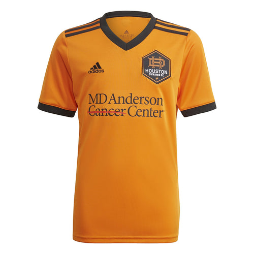 Houston Dynamo Youth Replica Primary Jersey Orange New Logo