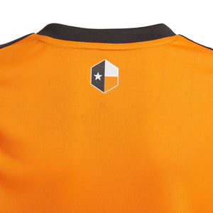 Custom Houston Dynamo Youth Replica Primary Jersey Orange New Logo