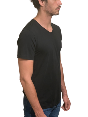 Load image into Gallery viewer, Luxe V Neck Pima